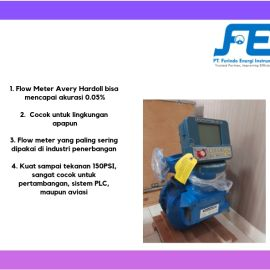 Positive Displacement Flow Meter Flow Meter Avery Hardoll BM Series
