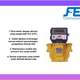 Positive Displacement Flow Meter Flow Meter LC MSeries