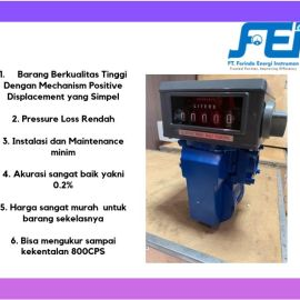 Positive Displacement Flow Meter Flow Meter Solar PD Vane Flow Controls