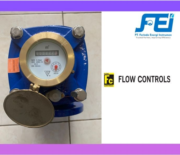 "Meteran Air Size 2"" sampai 8"" Meteran Air 2 Inch Woltman Flow Controls 2 meteran_air_size_2_dn50"